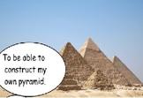 How to make a pyramid.