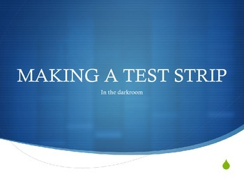 How to make a test strip