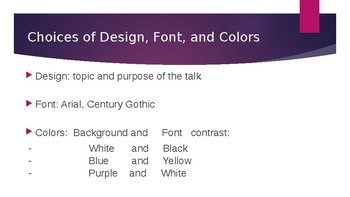 How to make an excellent PPT - Choices and Examples slides