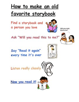 How to make an old favorite story book chart TC Teachers College