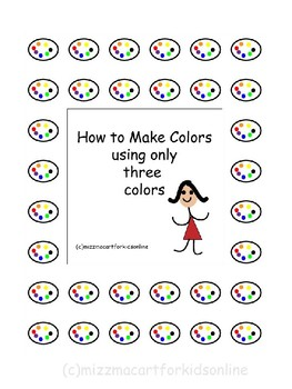 How to make colors workbook