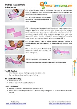 How to make robotic arm - Science Project Working Model DIY STEM activity kit