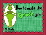 How to make the Grinch grin class book.