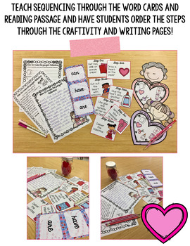 The perfect Valentine Sequencing cards & activities {grades 1-3}