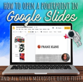 How-to open a PowerPoint Presentation on Google (or any MS