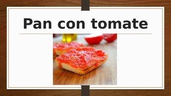 How to order in a Spanish restaurant.La comida española