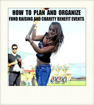 How to organize charity, benefit, fundraising and other small events