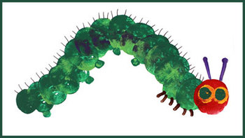 How to paint a Very Hungry Caterpillar