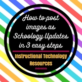 How to post images as Schoology Updates in 3 easy steps