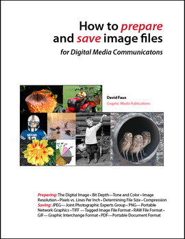 How to Prepare and Save Image Files ~ Publication