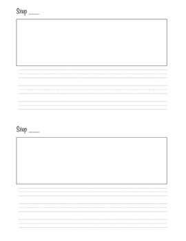 How to (procedural) writing template