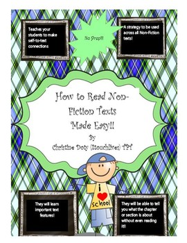 Observation Lesson-How to read Non-Fiction Texts Made Easy!