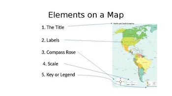 How to read a map powerpoint