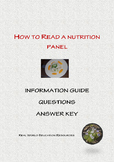 How to read a nutrition panel