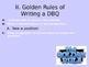 How to really write a DBQ essay