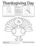 How to sign Thanksgiving Day & Free ASL Coloring Book