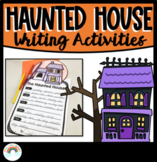Halloween Writing Worksheets | Haunted House for Sale | De