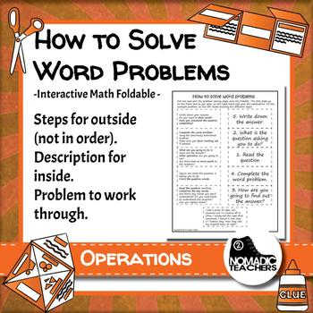 how to solve story problems