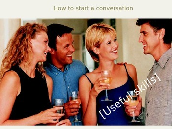 How to start a conversation in English