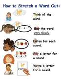 How to stretch a word out anchor chart tc writing workshop