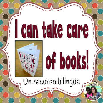 How to take care of books - Bilingual (Spanish)