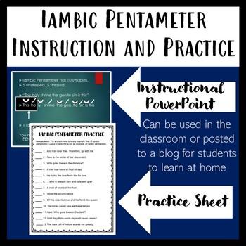How to teach Iambic Pentameter