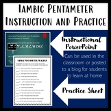 How to teach Iambic Pentameter