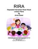 How to teach a RIRA lesson