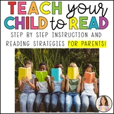 How to TEACH YOUR child to READ!