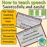 How to teach direct speech -easily and successfully (instructions and resources)