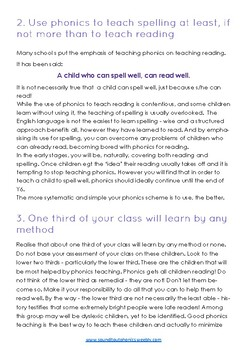 Phonics - How to Teach Effectively