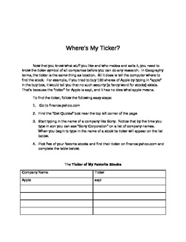 How to teach the Stock Market Game - Stock Market for Life
