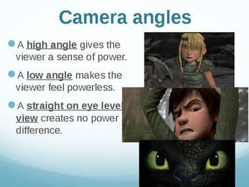 How to train your dragon Filmic tecniques
