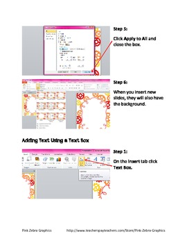 How to use Backgrounds and Clipart: Tutorial for Microsoft PowerPoint