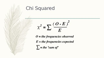 How to use Chi Squared in Genetics