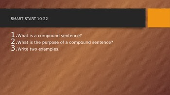 How to use FANBOYS in a COMPOUND SENTENCE