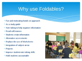 How to use Foldable Power Point