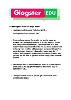 How to use Glogster