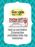 How to use Online Interactive Activities with my resources