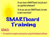 How to use SMARTboard Notebook Software Training Professional Development