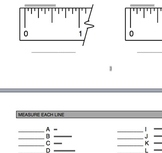 """How to use a 12"""" ruler? Imperial Measurements."""