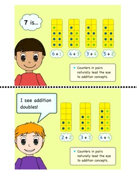 How to use a Ten Frame Student Book