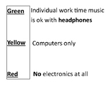 How to use electronics in the classroom