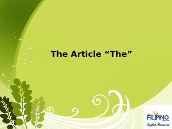 How to use the Article- The