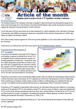 How to use the ICT Capability Learning Continuum