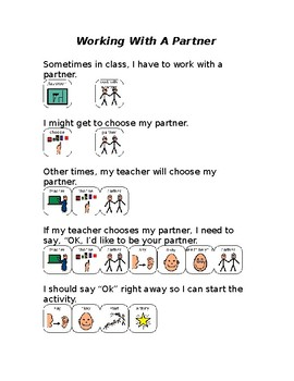 How to work with a partner