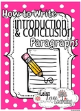 How to write Introduction and Conclusion Paragraphs