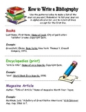 How to write a Bibliography / Works Cited page