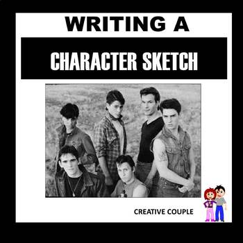 How to Write a Character Sketch Activity