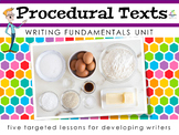 How to write a Procedure   Simplified Unit   How to Writing   Sequenced Texts